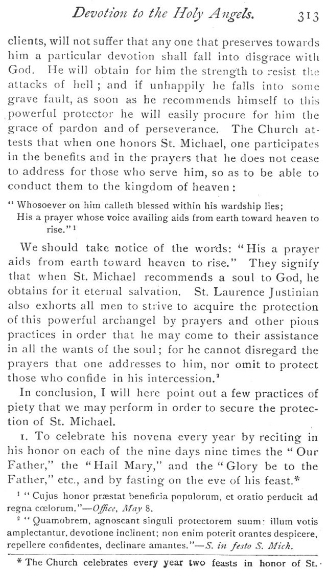 Devotion to St. Michael 15