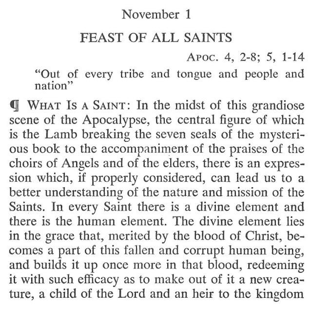 All Saints Meditation 1