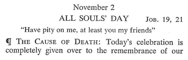 All Souls Meditation 1