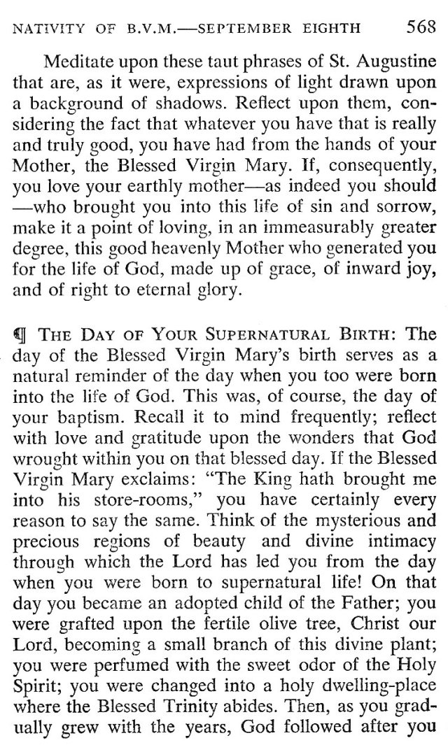 Breviary Meditation Nativity BMV 4