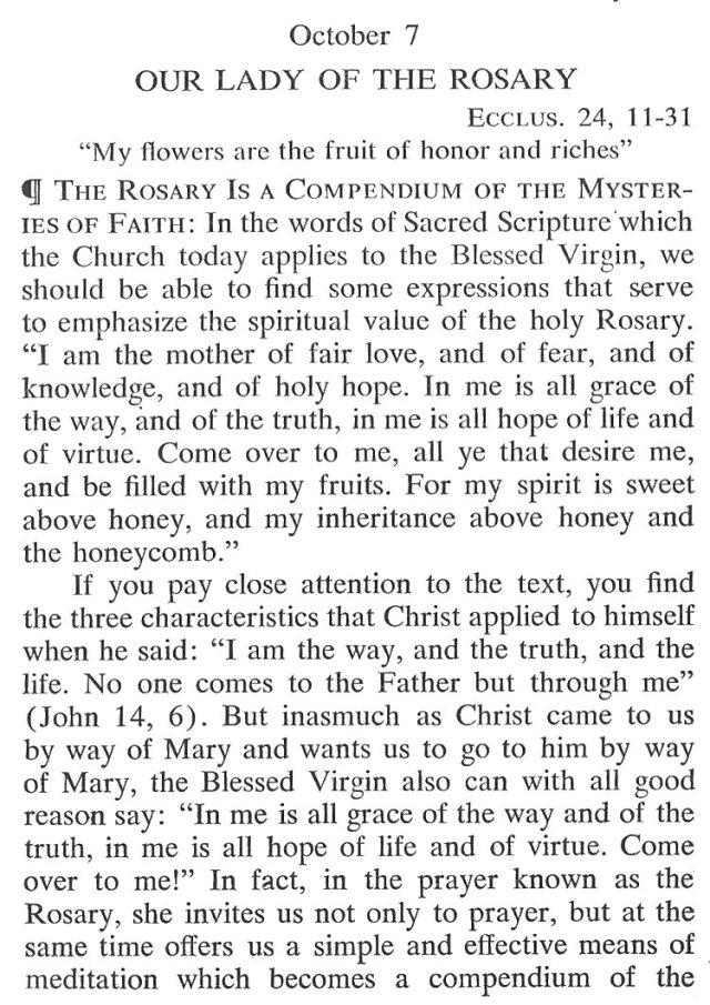 Breviary Meditations Rosary 1