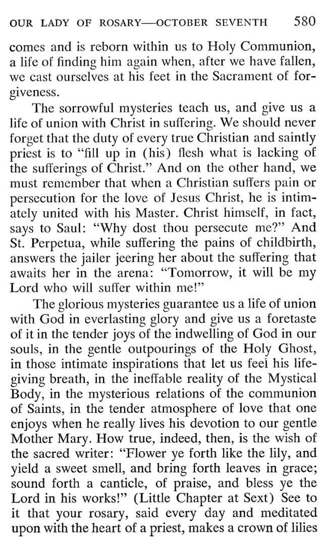 Breviary Meditations Rosary 5