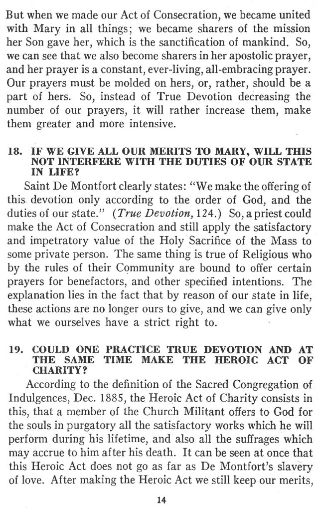 Catechism True Devotion 14