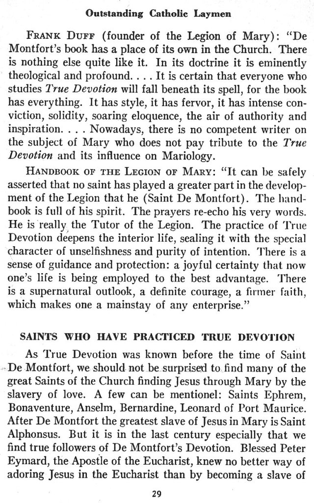 Catechism True Devotion 29
