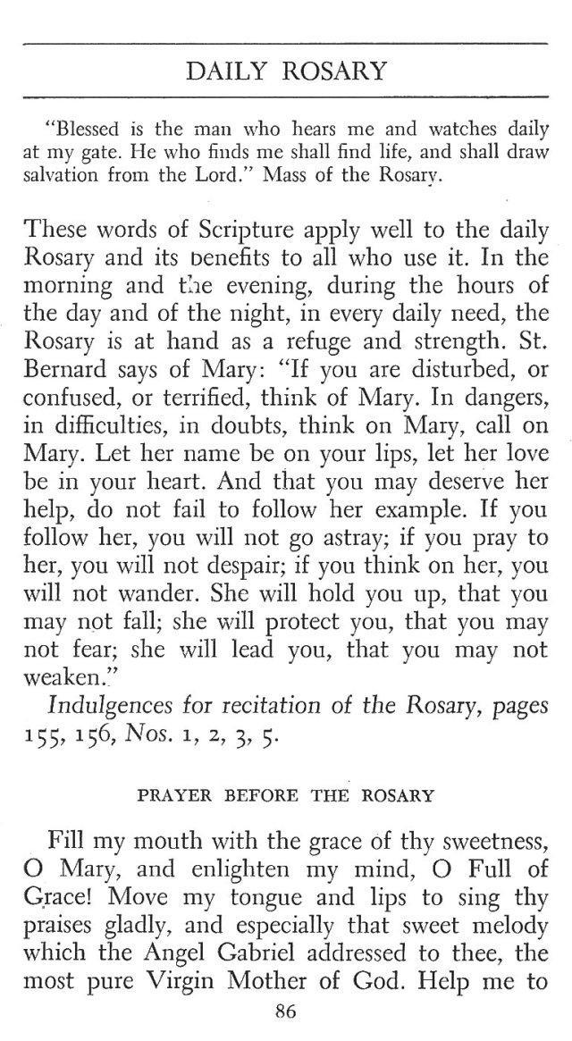 Daily Rosary 1