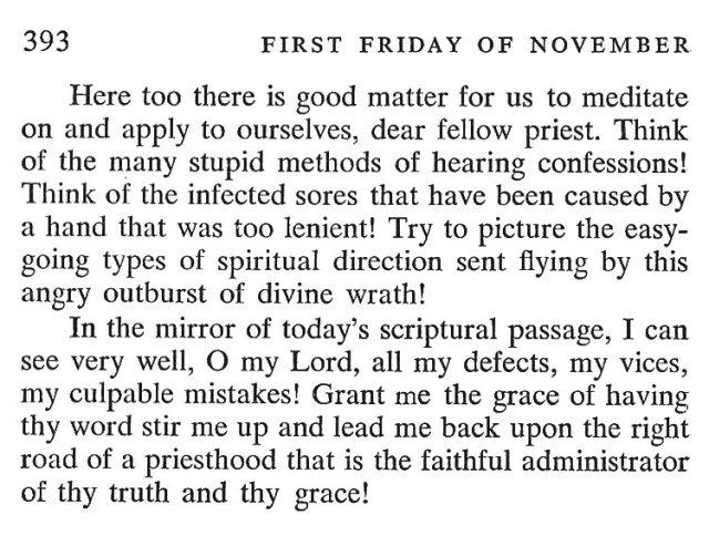 First Thursday November 6