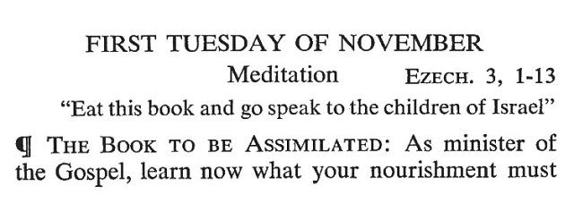First Tuesday November 1