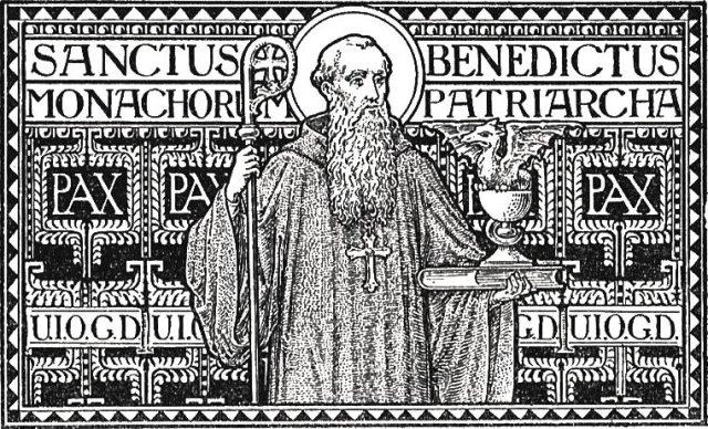 Resultado de imagen para sancte pater benedicte intercede pro nobis