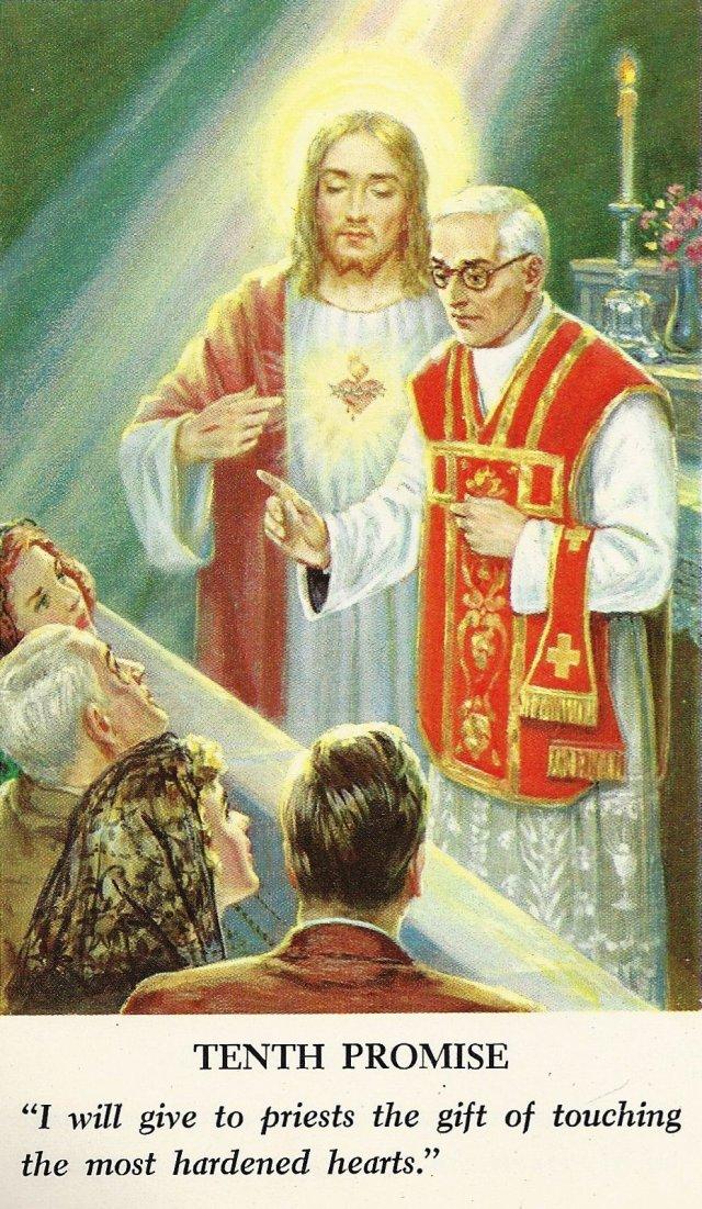 Sacred Heart Promises 10