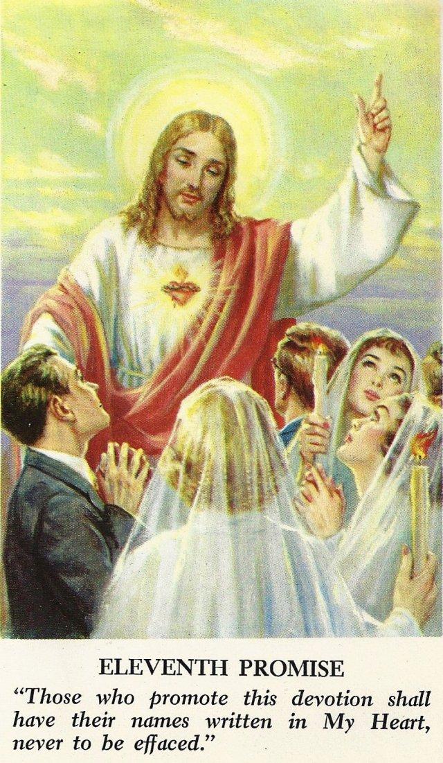 Sacred Heart Promises 11