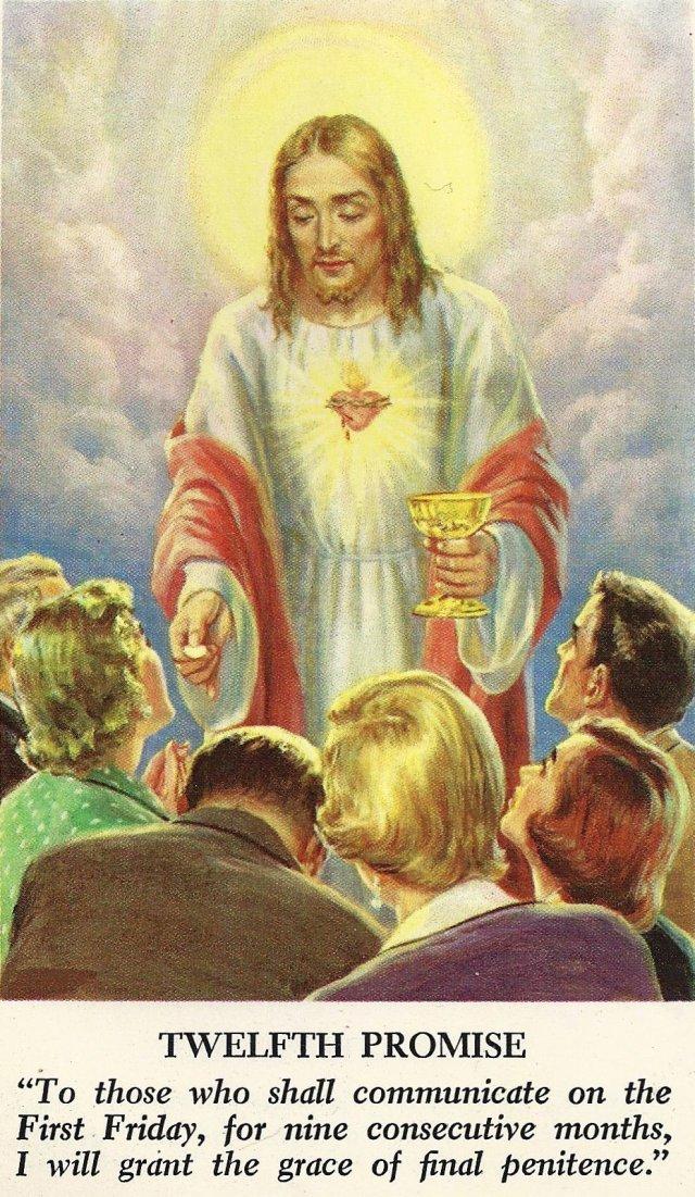 Sacred Heart Promises 12