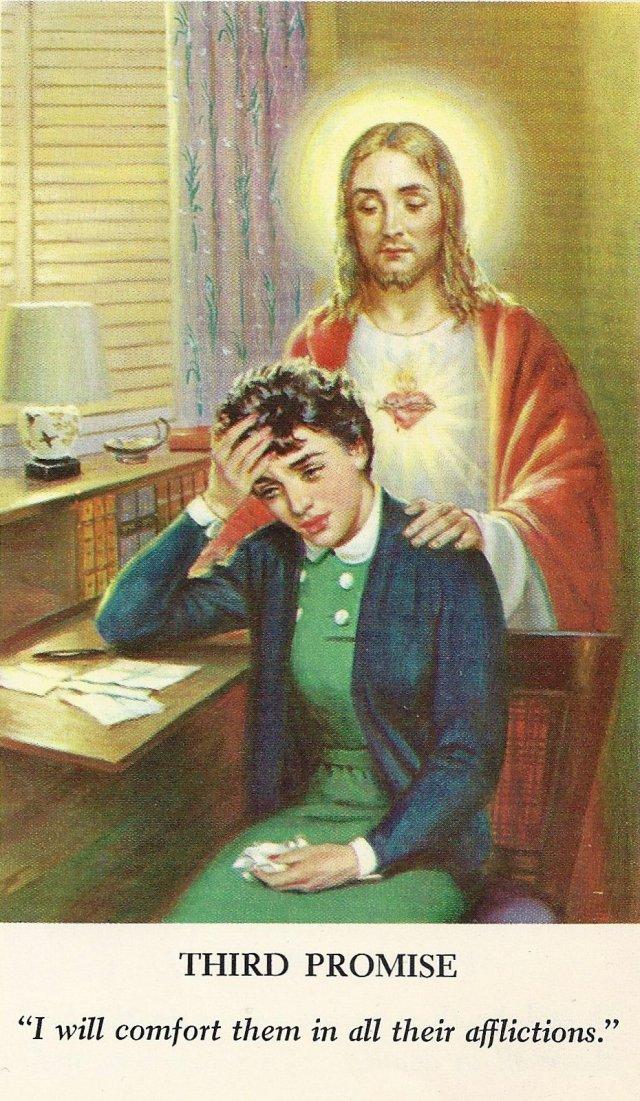 Sacred Heart Promises 3