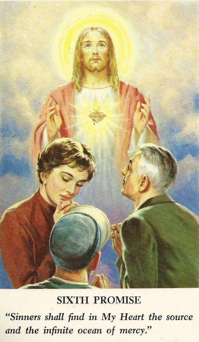 Sacred Heart Promises 6