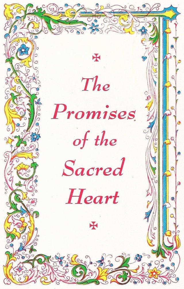 Sacred Heart Promises
