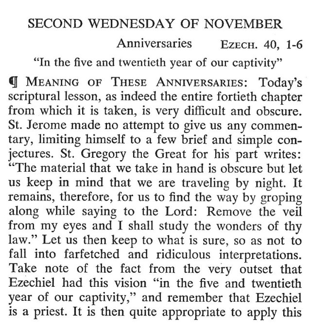Second Wednesday November 1