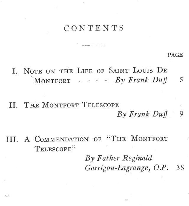 The De Montfort Way Contents