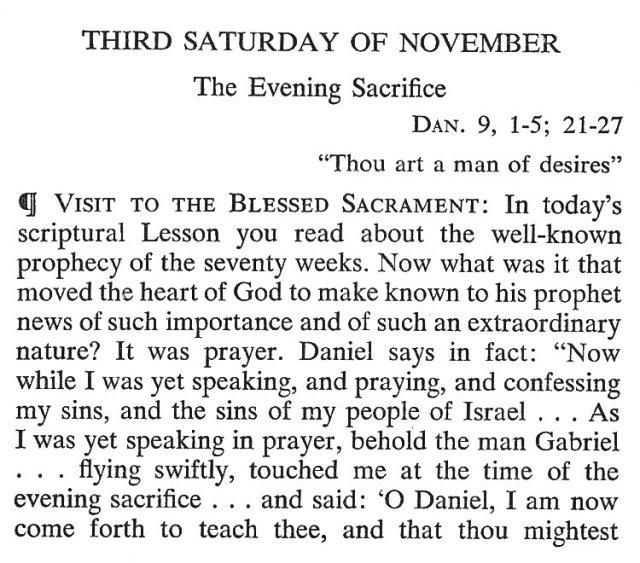 Third Saturday November 1