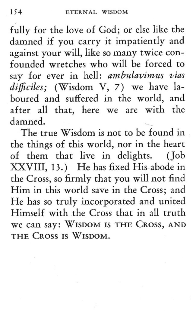 Triumph of Eternal Wisdom in and by the Cross 17