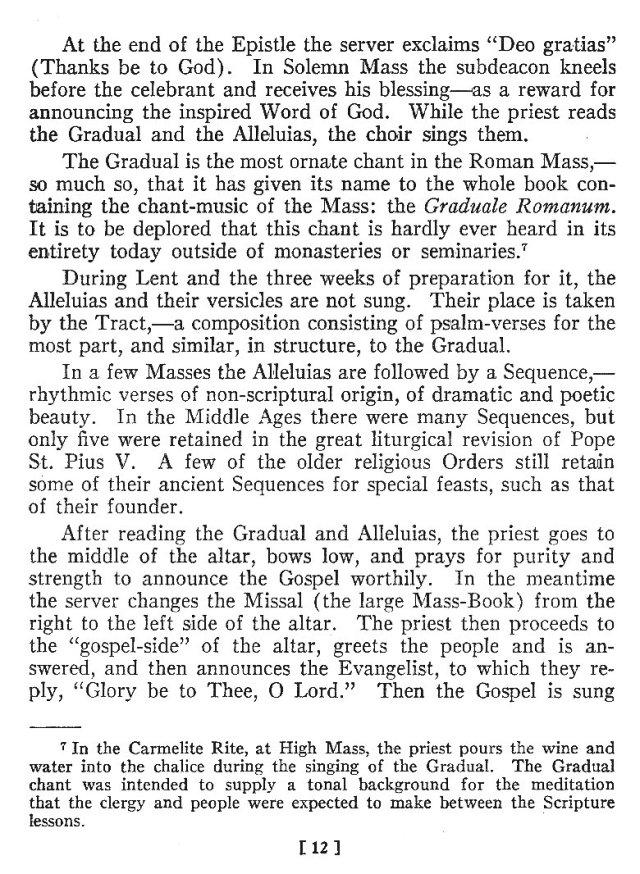 Comparison of Roman Byzantine Mass 11