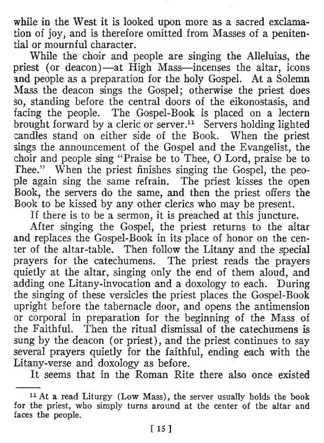 Comparison of Roman Byzantine Mass 14