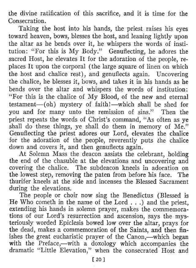 Comparison of Roman Byzantine Mass 19