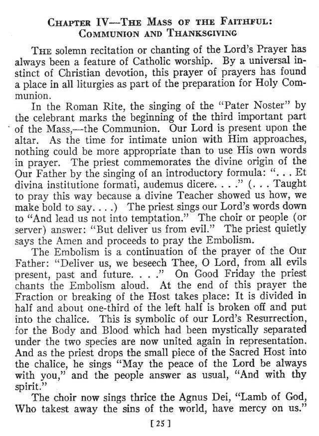 Comparison of Roman Byzantine Mass 24