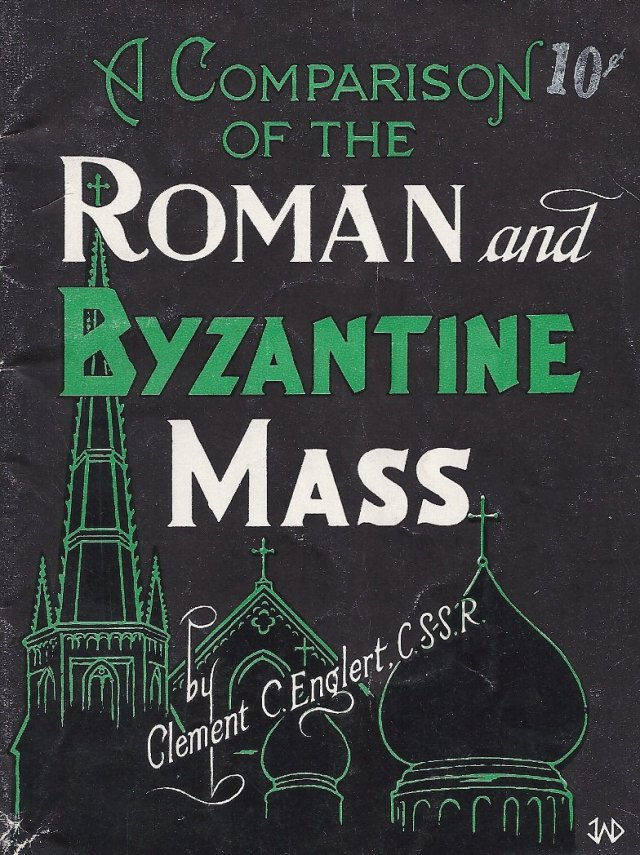 Comparison of Roman Byzantine Mass
