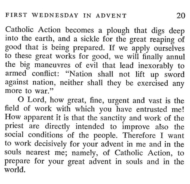 First Tuesday Advent 6