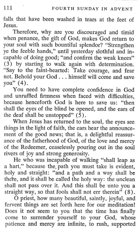 Fourth Sunday Advent 4