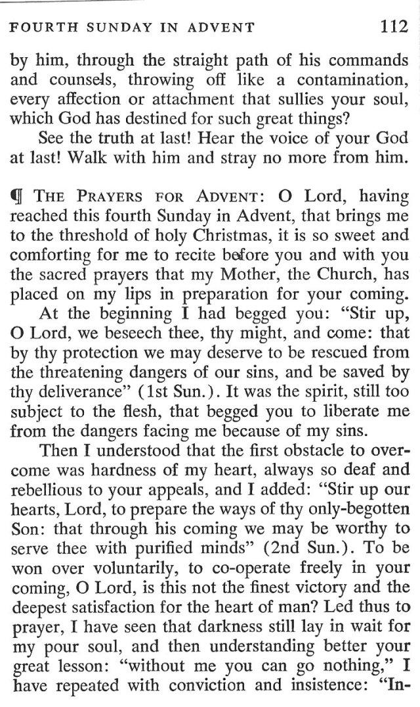 Fourth Sunday Advent 5