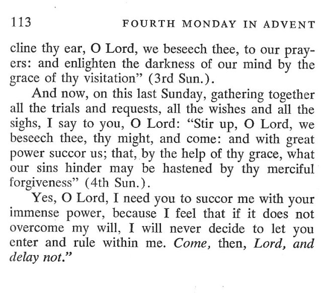 Fourth Sunday Advent 6