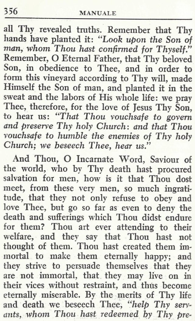 Prayer for Holy Church by St. Alphonsus 3