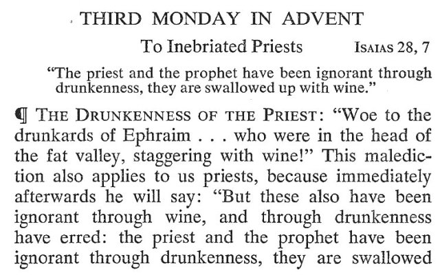 Third Monday Advent 1
