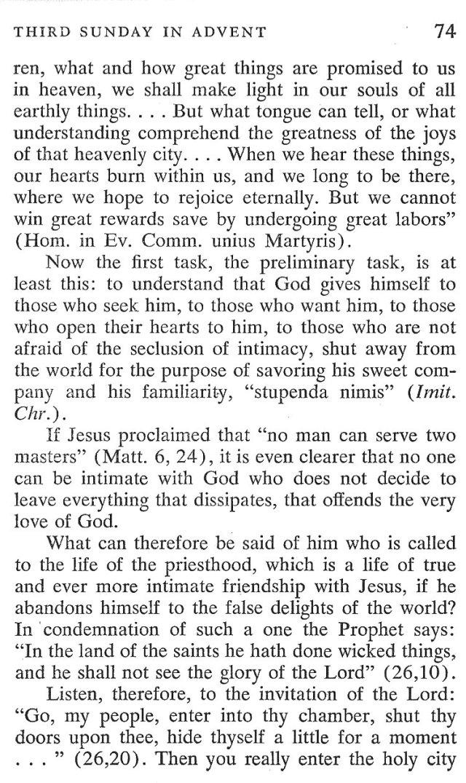 Third Sunday Advent 2