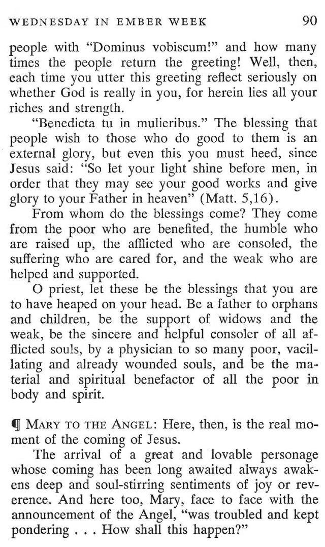 Third Wednesday Advent 3