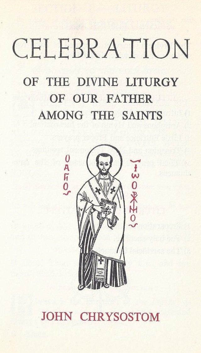 Celebration Divine Liturgy 1