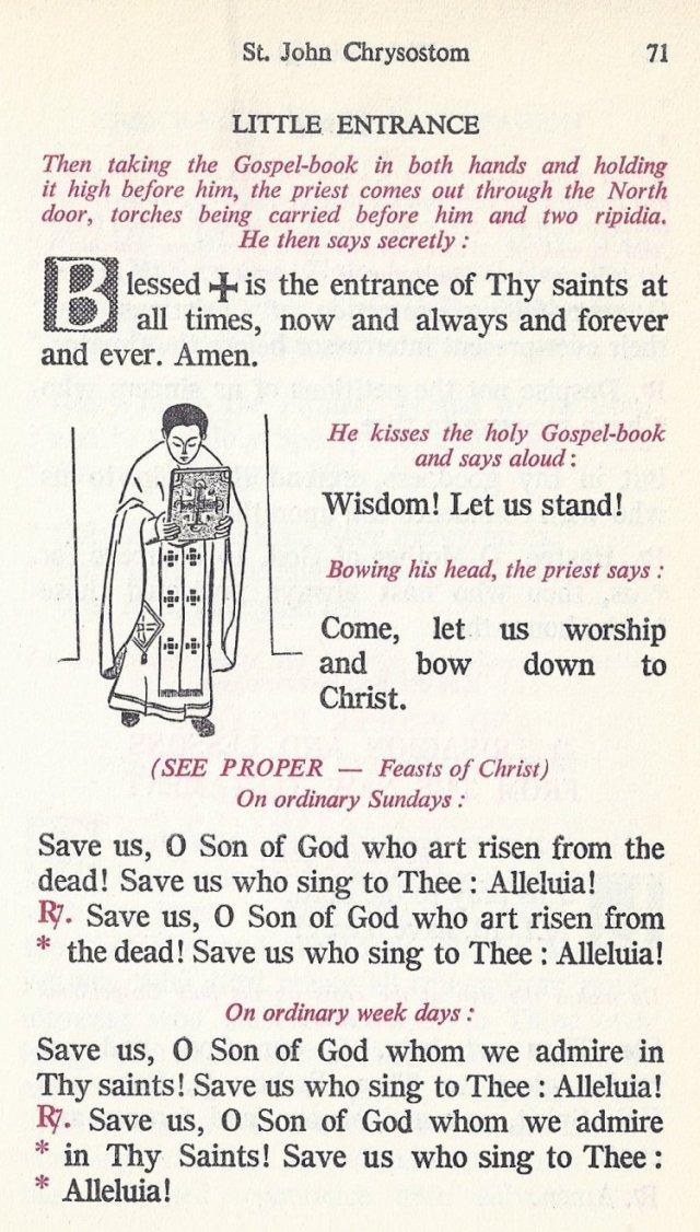 Celebration Divine Liturgy 11