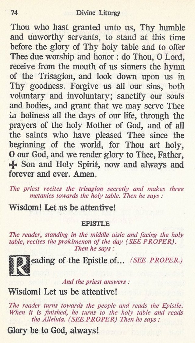 Celebration Divine Liturgy 14