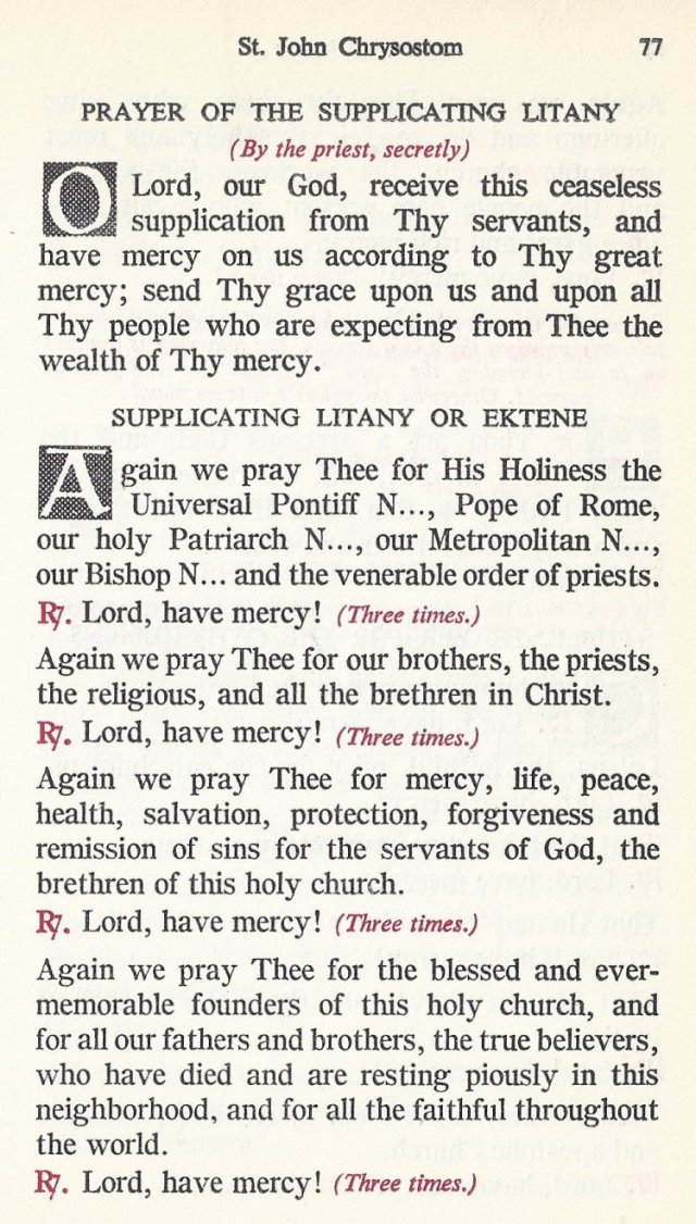 Celebration Divine Liturgy 17