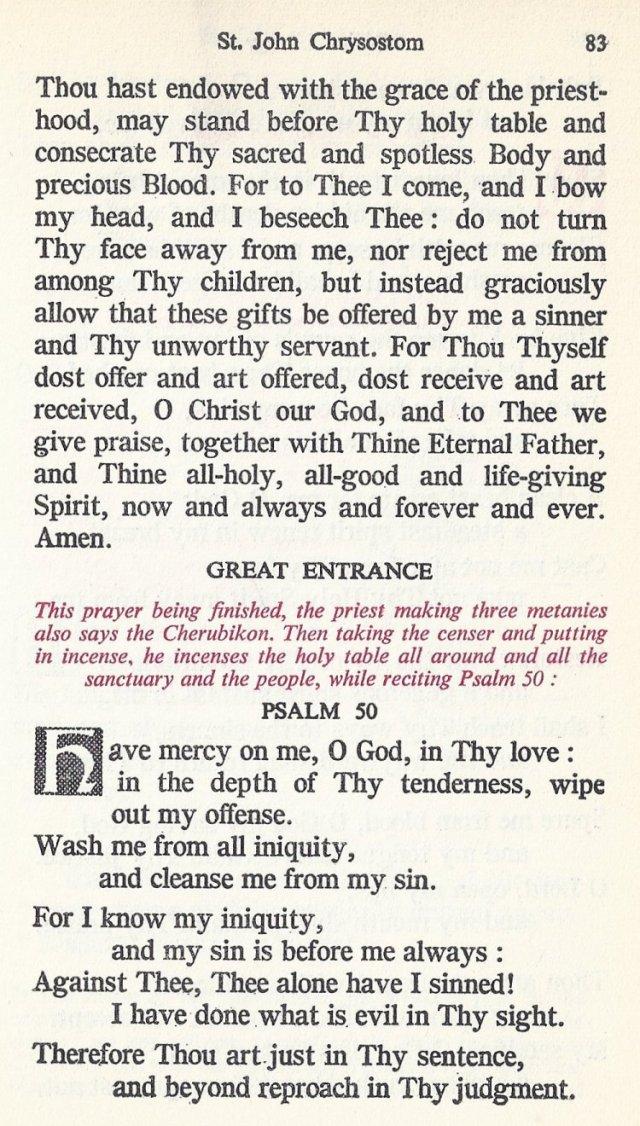 Celebration Divine Liturgy 23