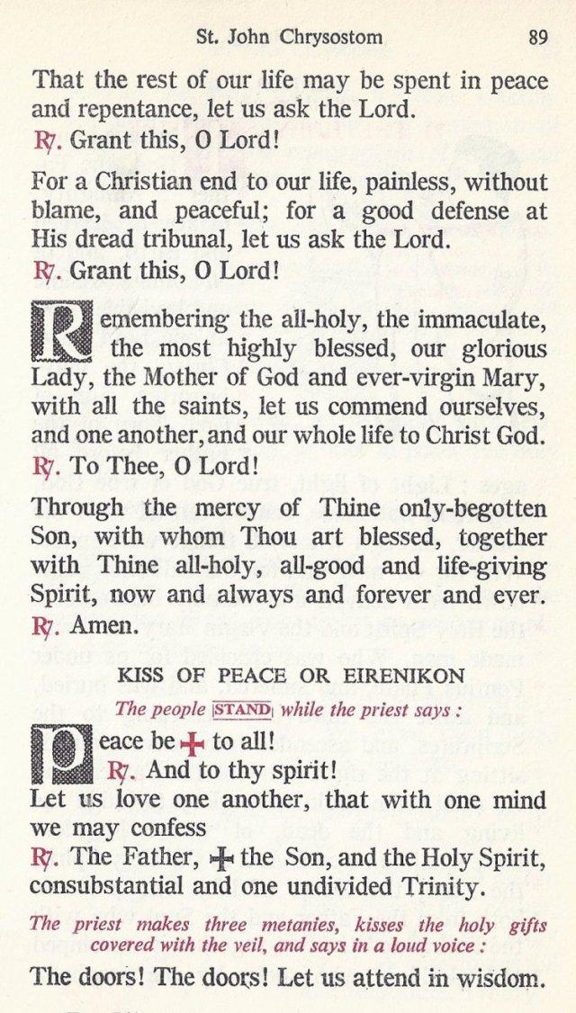 Celebration Divine Liturgy 29