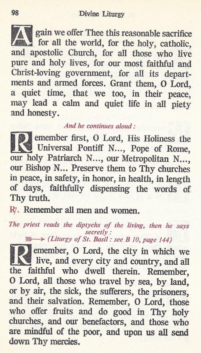Celebration Divine Liturgy 38