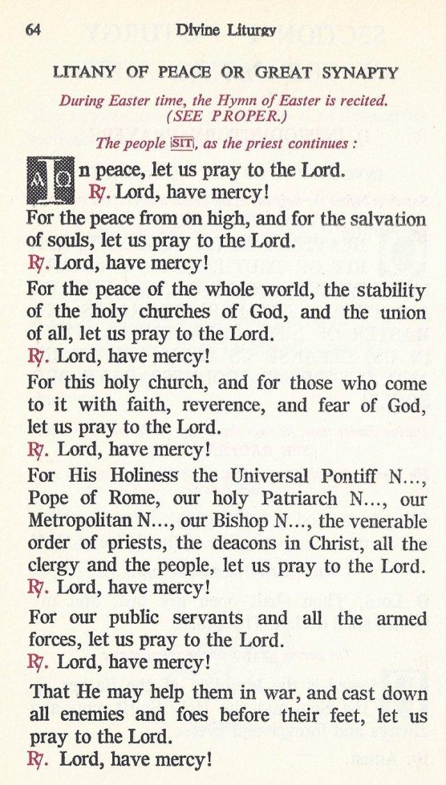 Celebration Divine Liturgy 4