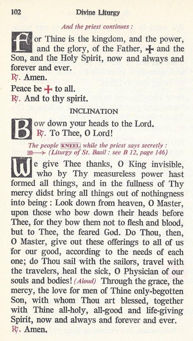 Celebration Divine Liturgy 42