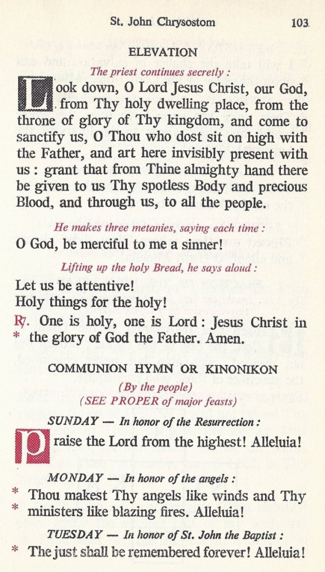 Celebration Divine Liturgy 43