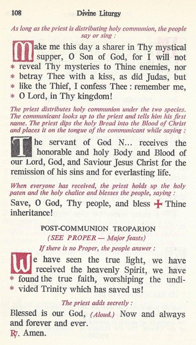 Celebration Divine Liturgy 48