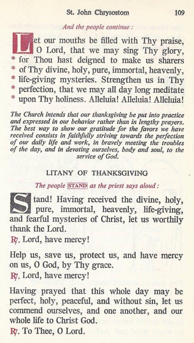 Celebration Divine Liturgy 49