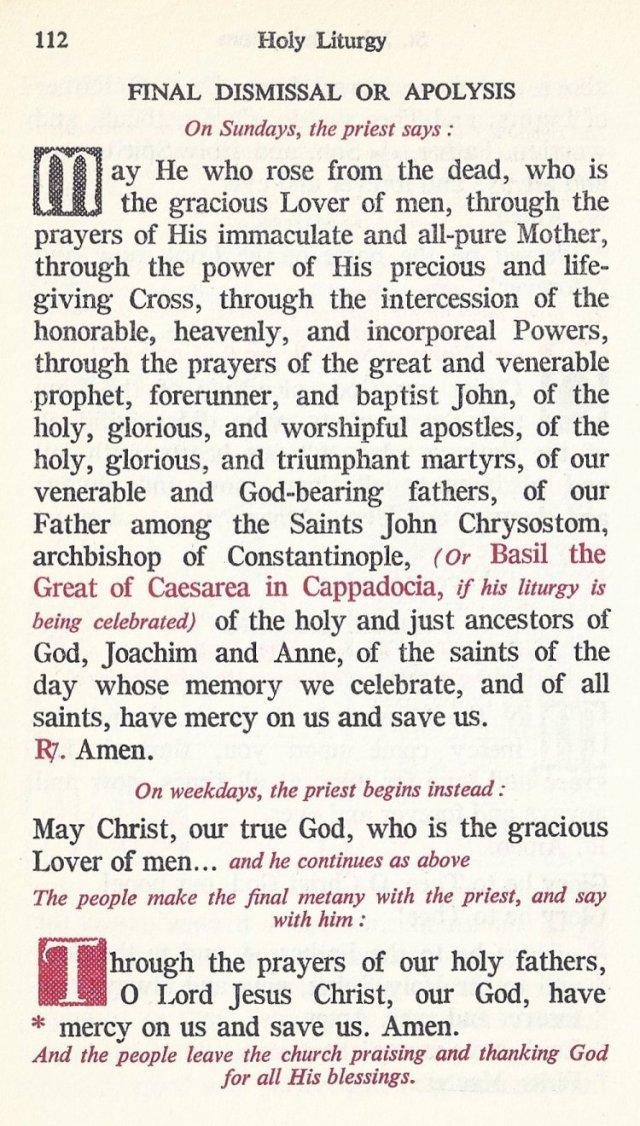 Celebration Divine Liturgy 52