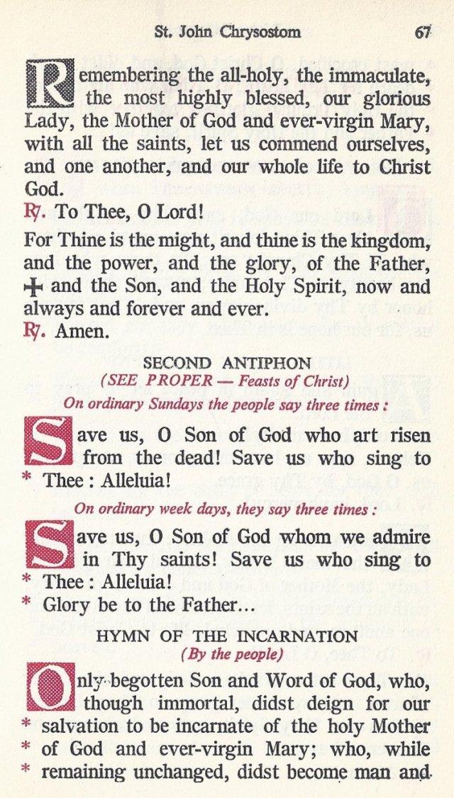Celebration Divine Liturgy 7