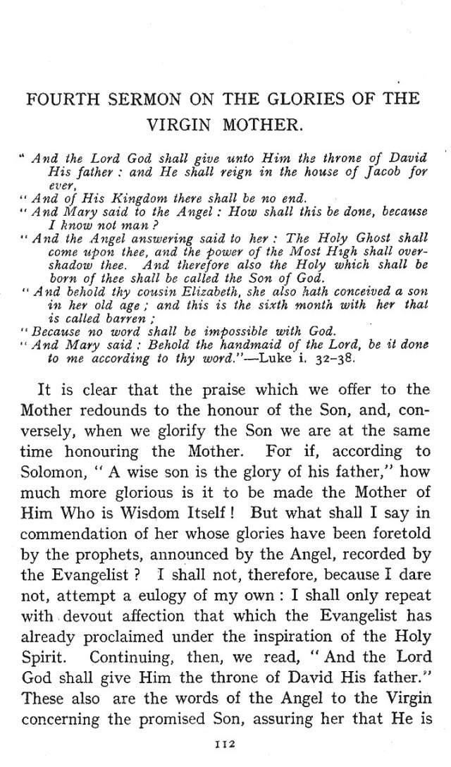 Glories of Virgin Mother 4th Sermon 1